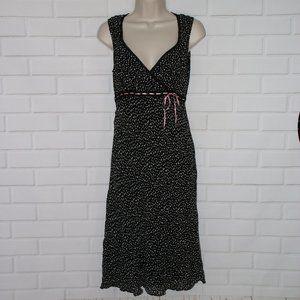 NWOT Motherhood Maternity Sz S Dress Polka Dots
